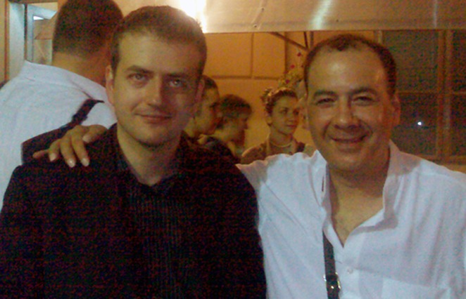 with Goran Krivokapic (Montenegro)