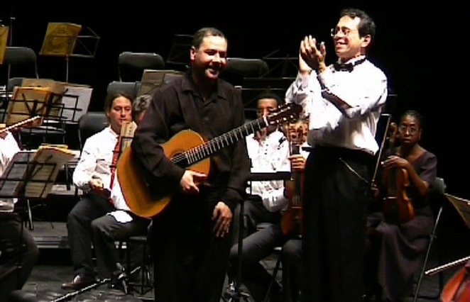with Léo Brouwer (Cuba) and the National Symphony Orchestra of Cuba