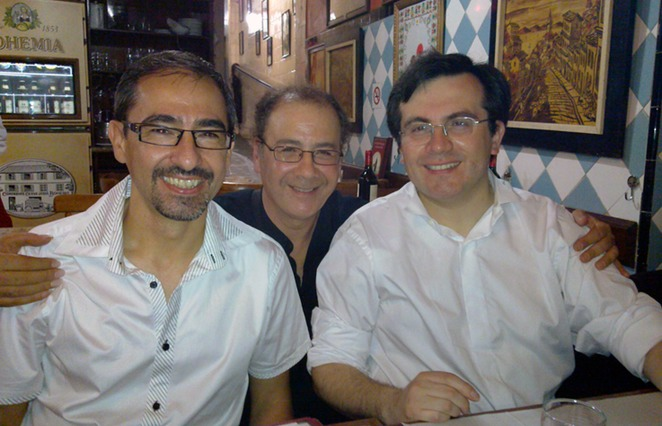 with Pablo Marquez and Carlos Perez