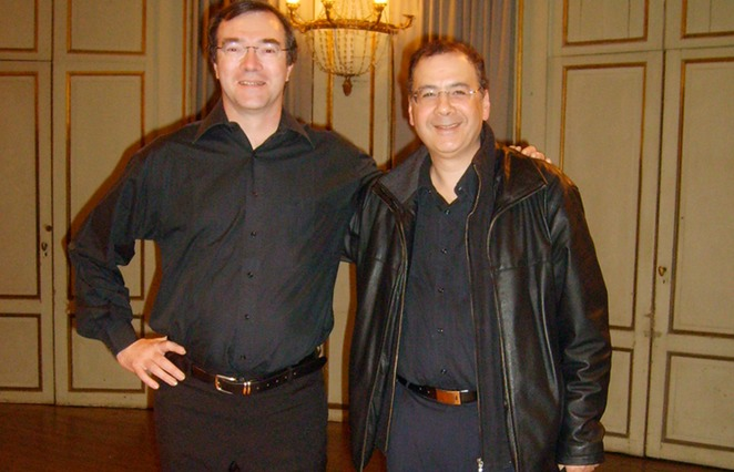 with my partner Eric Franceries (France)